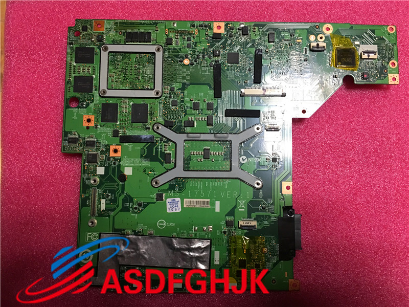 Купить с кэшбэком MS-1757 laptop Motherboard For msi GE70 MS-17571 VER:1.1 PGA947 DDR3 system mainboard 100% TESED OK