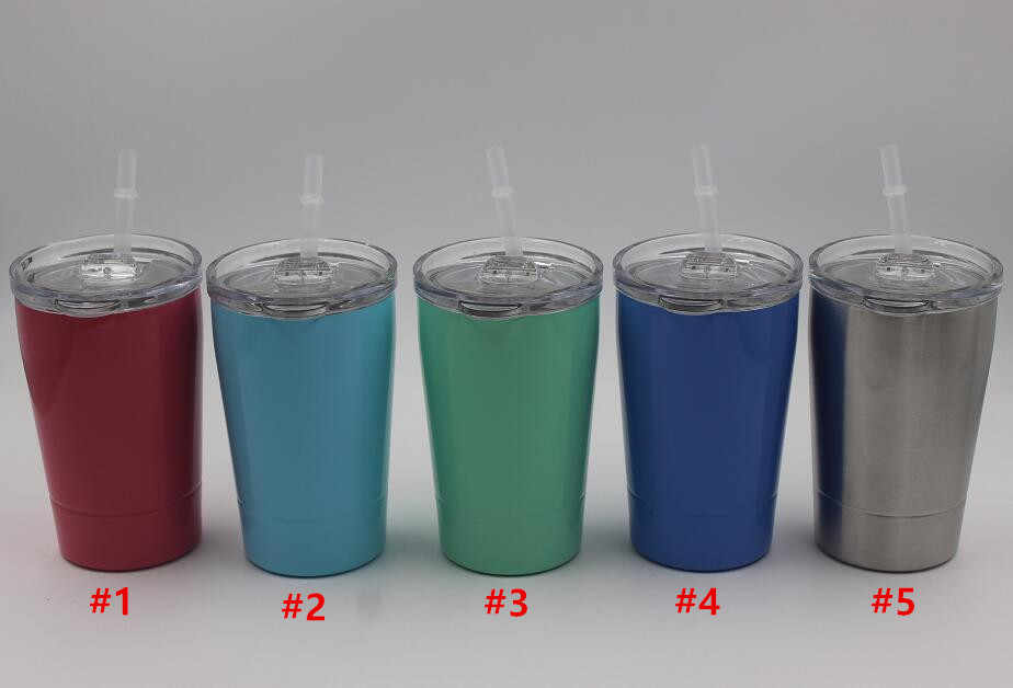 d615f2dbad2 ... Quevina100pcs 12oz 8.5oz tumbler wine glasses Stainless Steel Travel  Vehicle Beer Mug Insulated 12 oz ...
