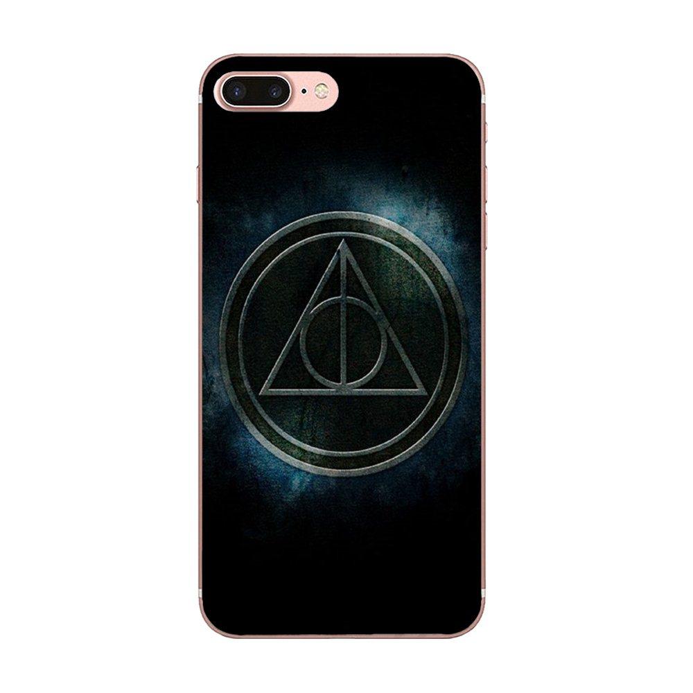 Soft TPU Print Capa Stunningharry Potter Magic Spell For Apple iPhone 4 4S 5 5C 5S SE 6 6S 7 8 Plus X XS Max XR