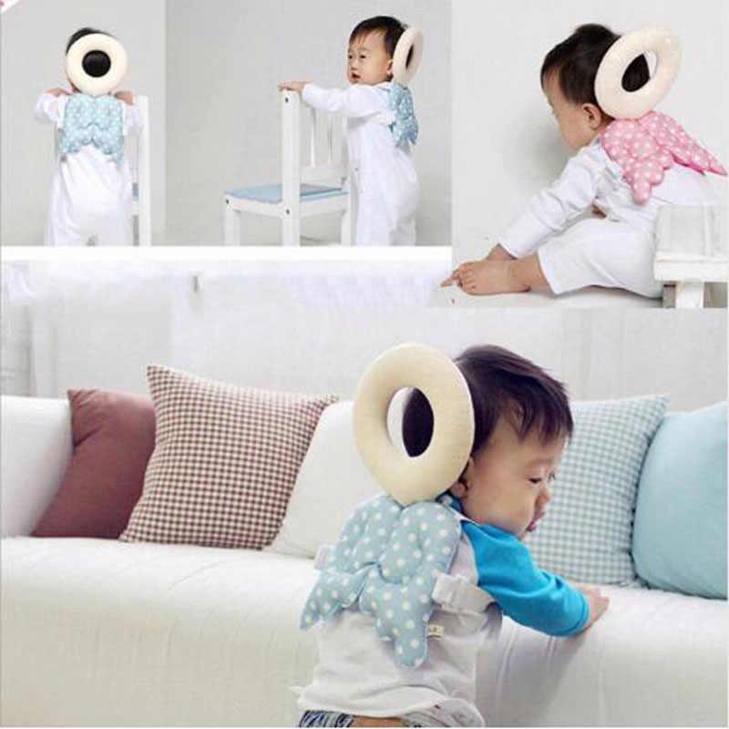 Cojín de protección para la cabeza de bebés, cojín de niño reposacabezas para cuello de bebé, cojín de resistencia a la caída de cuidadora, protección para bebés, envío gratis
