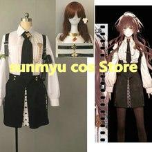 Free Shipping!Collar x Malice Hoshino Ichika Cosplay Costume