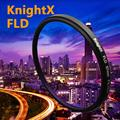 KnightX FLD ик-Фильтр для Canon Nikon Sony Pentax Olympus D3300 5D 6D 7D 52 мм 55 мм 58 мм 62 мм 67 мм DSLR ЗЕРКАЛЬНЫЕ ФОТОКАМЕРЫ объектив