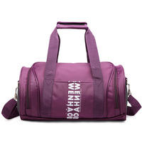 4 Color Available Fashion Women Travel Bags High Quality Canvas Leather Largr Size Sports Bags Unisex