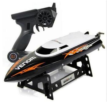 Parkten UDI001 2.4G High speed 4CH Remote Control RC Boat Speedboat  children's toy  water speed boat summer toys