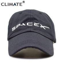CLIMATE 2017 Új U.S. Hot Cool Spacex UFO baseball sapka felnőtt férfiak nők szabad tér rakéta musk rajongók sport aktív Cool Caps