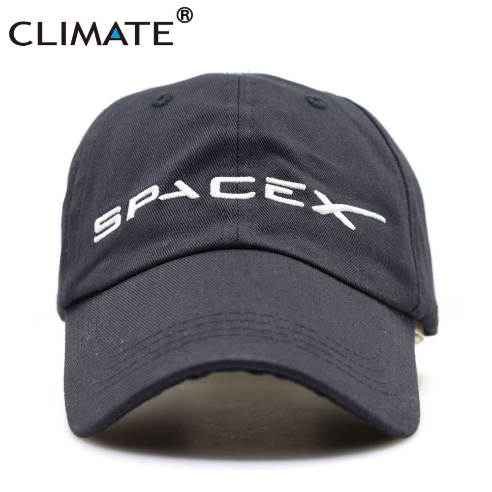 CLIMATE Men Women Cool Black Spacex UFO