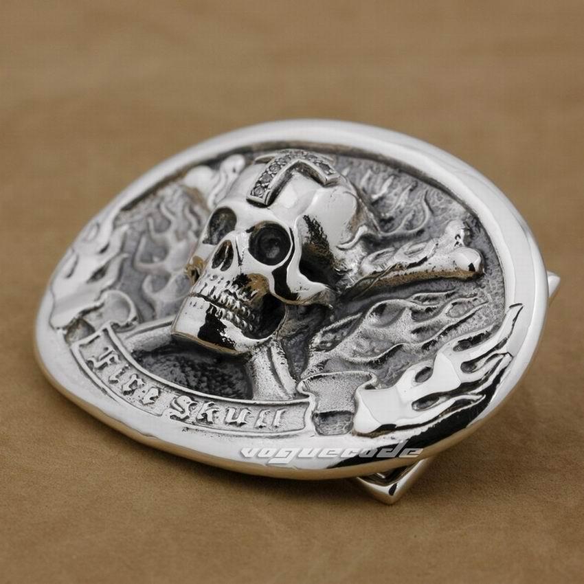 Huge Heavy 925 Sterling Silver Eagle Mens Biker Rock Punk Belt Buckle 9C007A