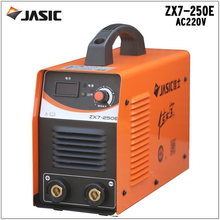 Genuine Jasic welder household small single-phase inverter DC ZX7-250E welding machine welding 3.2 Long Bao Christie  цены