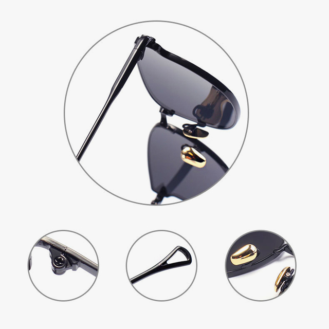 2016 Italy Famous Hipster Brand Designer Women Sunglasses New Cat Eye Arrow Shapes Mirror Cateye Men Sun glasses 5