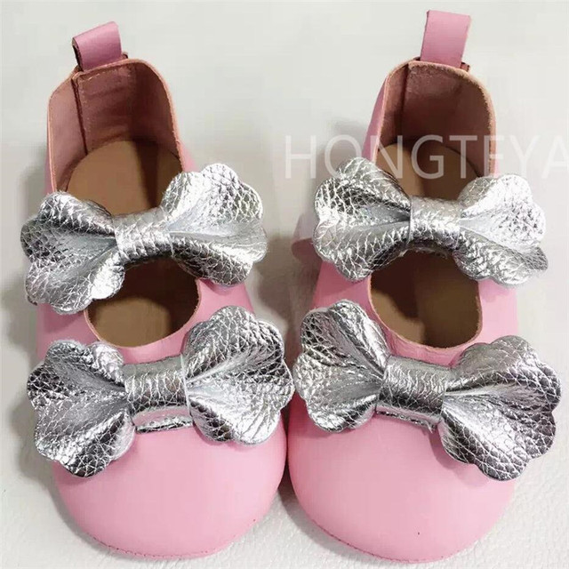 Top quality Genuine Leather Red Mary Jane Toddler Baby Moccasins Newborn Bow Cute Soft Soled Baby Shoes Infant Shoe Freeshipping
