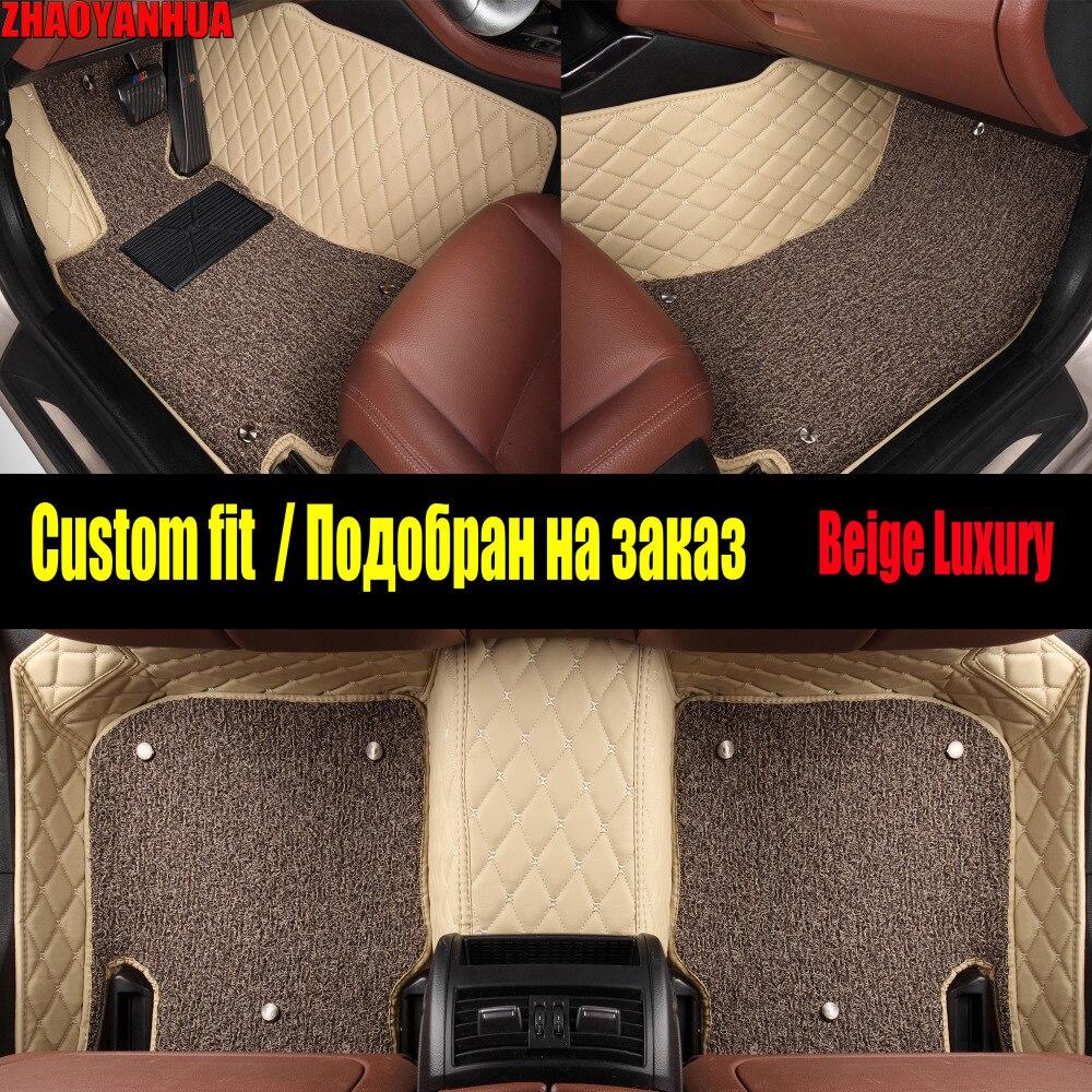 ZHAOYANHUA Voiture tapis de sol pour Infiniti QX70 FX FX35 FX37 G35 G37 Q50 EX35 G25 accessoires de voiture-style tapis doublures