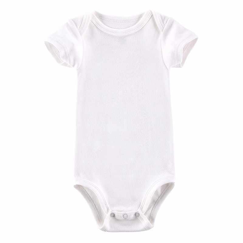 Боди для маленьких девочек, боди с короткими рукавами для новорожденных, хлопковое боди для малышей, детская одежда для мальчиков, ползунки для девочек 0-24 месяцев