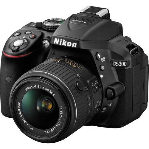 Nikon D5300 DSLR Camera -24.2MP -Video -Vari-Angle LCD  -WiFi  (Brand New)