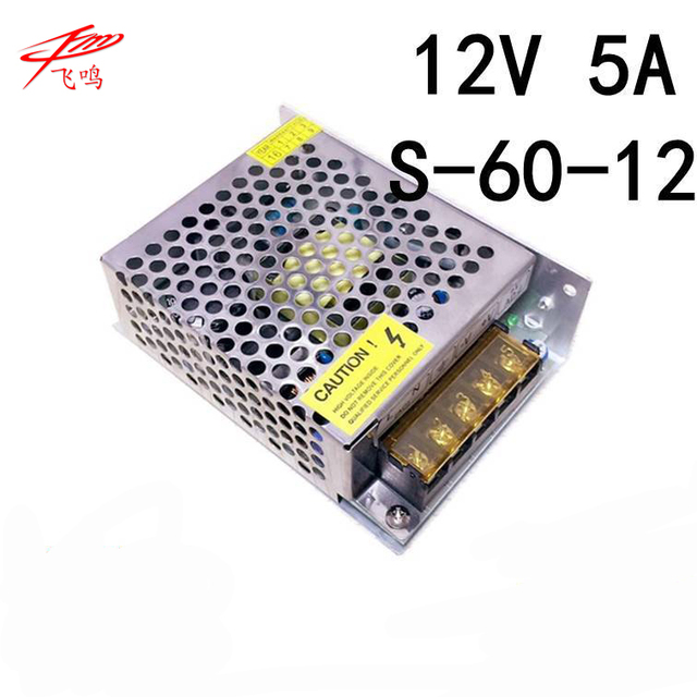 Aliexpress  Buy 12v dc power supply 12 volt 5 amp transformer