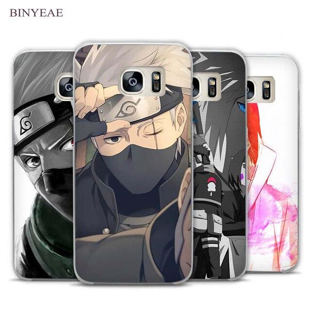 BINYEAE Hokage Naruto Kakashi Cute Clear Phone Case Cover For Samsung Galaxy Note 2 3 4 5 7 S3 S4 S5 Mini S6 S7 S8 Edge Plus