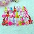 Mix Styles Assorted Baby Kids Girls Hair Pin Clips Hair Jewelry 5pcs