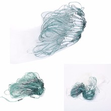 HOT Sale 20m 3 Layers Monofilament Gill Fishing Net with Float Fish Trap Rede De Pesca Fishing Tools Wholesale