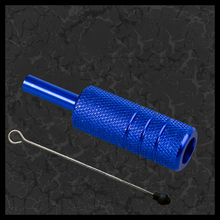 Hot Selling 22mm Blue And Red Color Aluminum Tattoo Needles Cartridges Grips