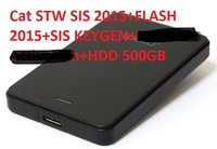 New 10 2016 SIS STW Keygen ET 2015A And SIS Activator 3in1with HDD500GB For Cat