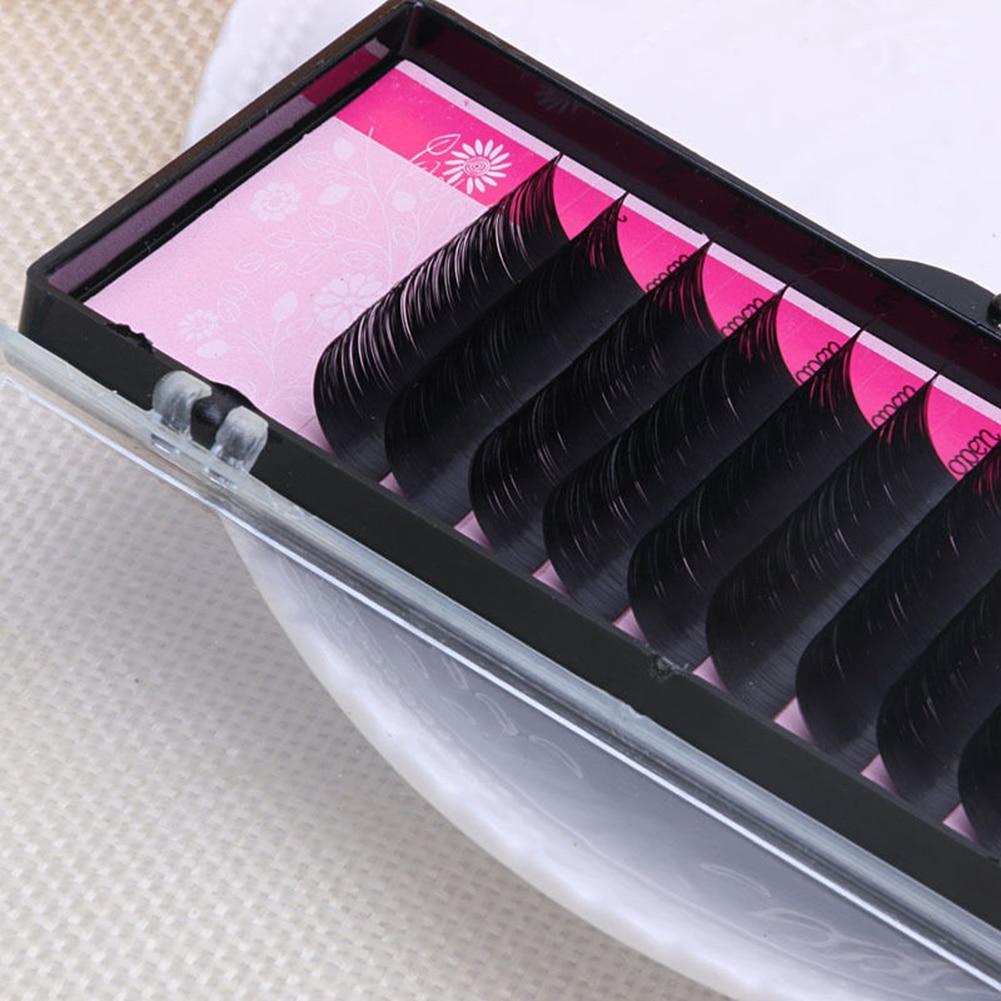 Professional Lady Fashion Handmade Eye Extension Makeup Long Curly Fake False Eyelashes