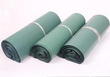Cammitever 100 Pcs Groene Logistiek Koerier Zak Koerier Envelop Verzending Bag Mail Envelop Bag Zelfklevend Seal Plastic Pouch