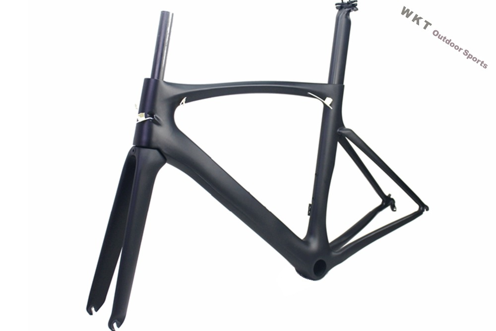 Wholesale price!Full Carbon Road Bicycle Bike T700 Super Light Road Carbon Bicycle Road Frame Frameset t700 full carbon road bicycle frame bb386 road bike 3k weave 54cm in stock 3 days delivery