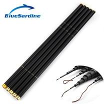 BlueSardine Carp Fishing Rod Carbon Stream Hand Pole Telescopic Fishing Tackle  4.5M 5.4M 6.3M 7.2M 8M