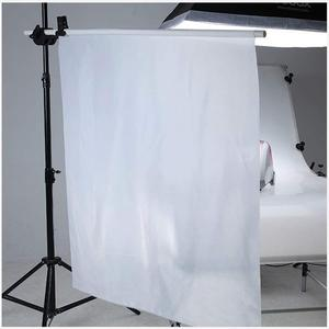 Image 1 - 1.7*1M Photography Background Soft Cloth Fabric Nylon White Seamless Diffuser For Photography Lighting Softbox and Light Tents