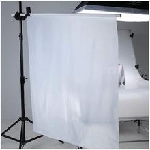1.7*1m painel macio de fundo de fotografia, tecido de nylon branco sem costura difusor para iluminação da fotografia softbox e barracas de luz