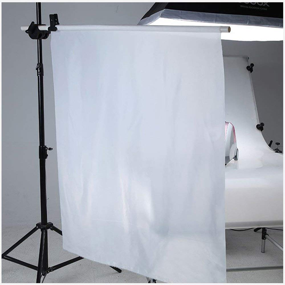 1 7X1m Diffusion Fabric Nylon Silk White Seamless Light Modifier for Photography Lighting Softbox and Light Tents