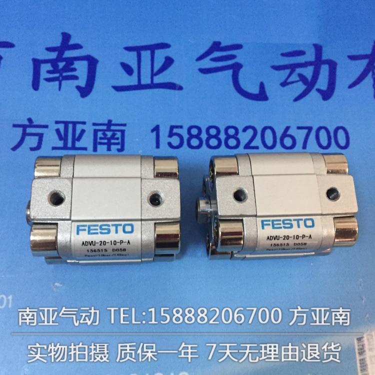 ADVU-20-20-P-A  ADVU-20-25-P-A  ADVU-20-30-P-A  FESTO Compact cylinders  pneumatic cylinder  ADVU series advu 12 20 a p a advu 12 25 a p a advu 12 30 a p a festo compact cylinders