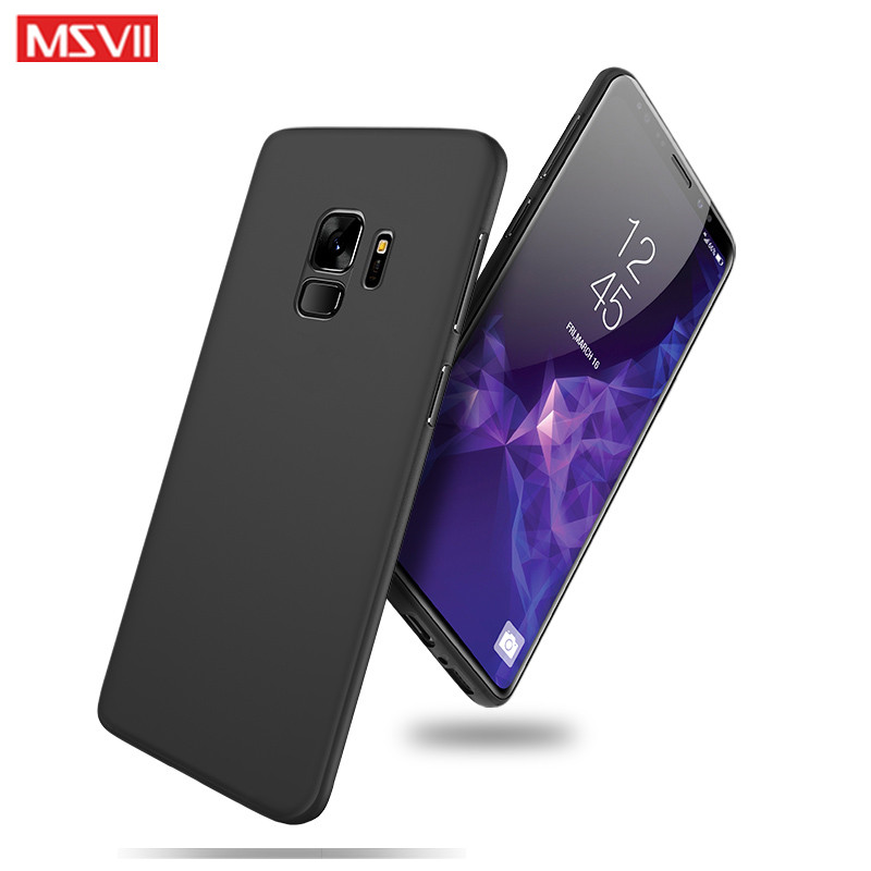 huge selection of 5648b d7049 US $3.89 22% OFF|For samsung galaxy S9 case cover MSVII luxury simple  stylish Back cover Case For samsung galaxy S9 Plus cases S 9 phone case-in  ...