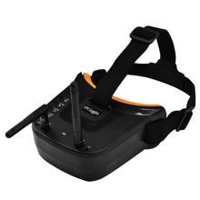 Мини FPV очки 3 дюйма 480x320 дисплей двойная антенна приёмная 5,8G 40CH с батареей для RC FPV гоночный Дрон Квадрокоптер