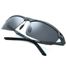 Aluminum-magnesium classic polarized sunglasses men and women driving square frame mens duty UV400 3009Y