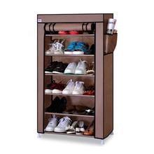 Six Grids Thicken Non-woven Shoes Cabinet Dustproof Multilayer Shoe Rack Creative Cabinet Storage Shoe Shelf