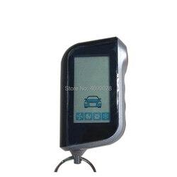A93 Vertical LCD Remote Control Keychain for Russian Starline A93 Two Way Car Burglar Alarm System Key chain Fob