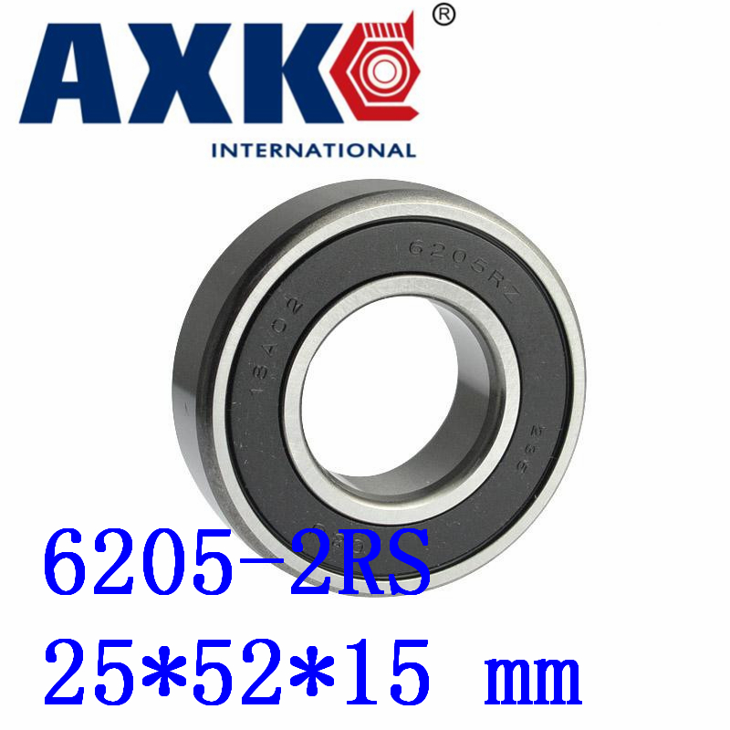 2018 Time-limited Real Rodamientos 4pcs Free Shipping Double Rubber Sealing Cover Deep Groove Ball Bearing 6205-2rs 25*52*15 Mm