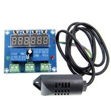 XH M452 Termostato Temperatura Controllo Dellumidità Termometro Igrometro Modulo di Controllo DC 12 V LED Display Digitale Doppia Uscita