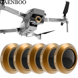 CAENBOO Drone Filter For DJI Mavic 2 Zoom Neutral Density ND4+8+16+32+ND64 Polar Optical Glass Multi-Layer Coating Film Gimbal