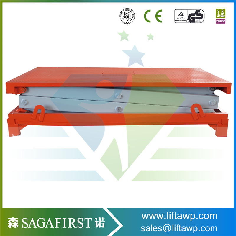 Double Scissor Lift Table With Great Load Capacity For Sale
