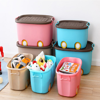 organizador juguetes infantil kids cabinet toy storage rack baby wardrobe furniture with wheel