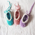 QYFLYXUE- Baby shoes handmade shoes knitted yarn shoes infant newborn shoes 77