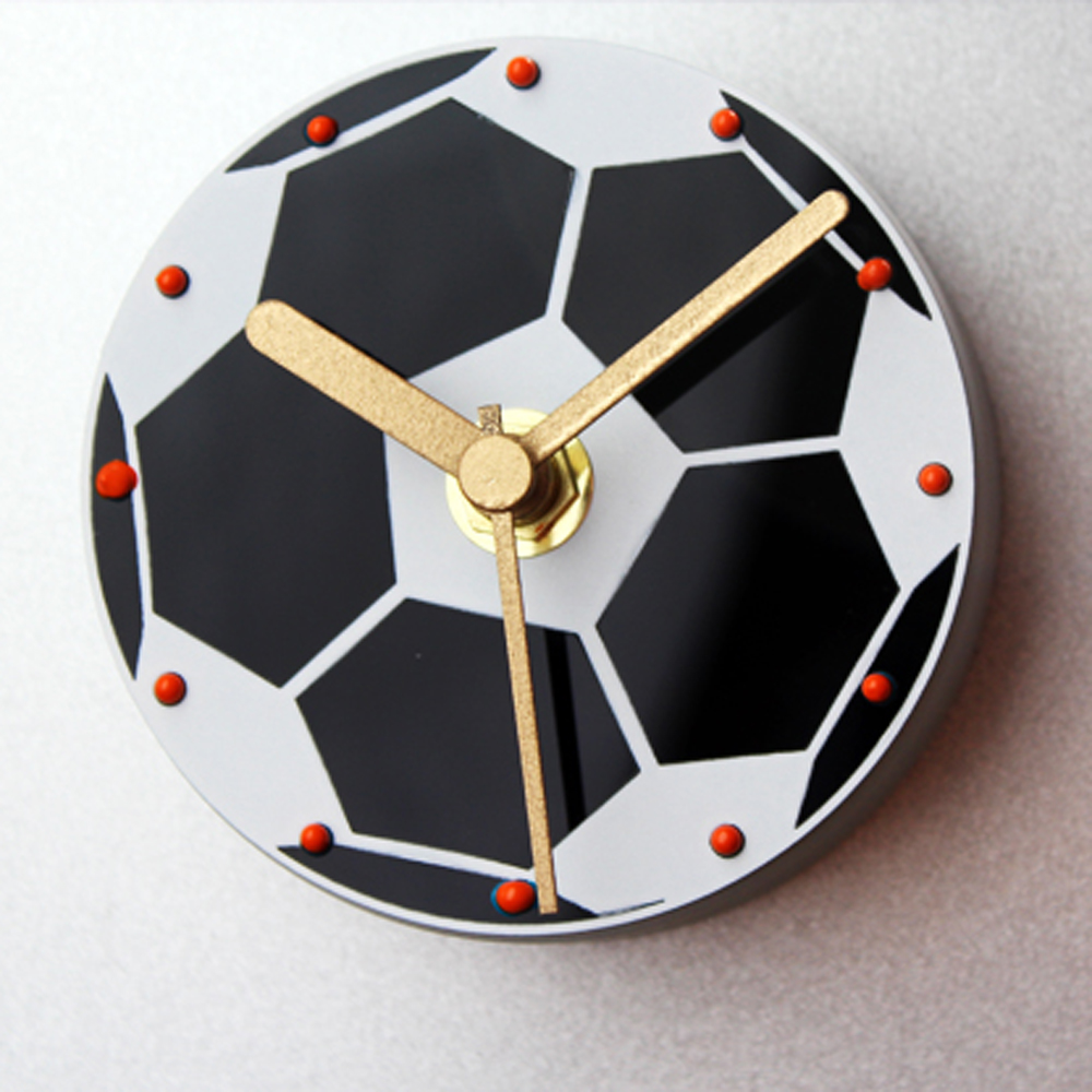 Fashion Creative Design Sport Football Clock Round Popular