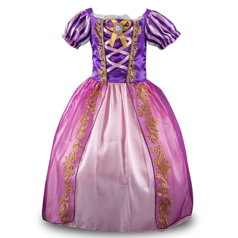 3-10Yrs 2015 Baby Girls Party Dresses,Girls Snow White Christmas Party Flowers Princess Dresses Baby Girls Party Clothing 2015 10