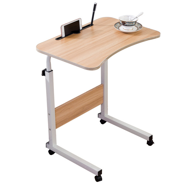 Multifunctional Laptop Stand For Bed Portable Computer Desk With Universal Roller Table 70 90cm
