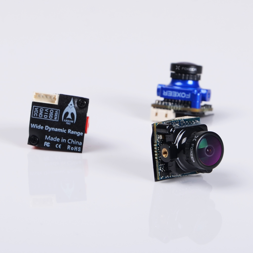 FOXEER Arrow MICRO PRO camera 5.5g 18.6*19mm for DIY mini drone cross racing quadcopter