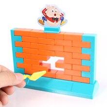 Настенная игра семейная настольная игра детская игрушка Шалтай стена разрушить Забавный умный день рождения рождественские подарки