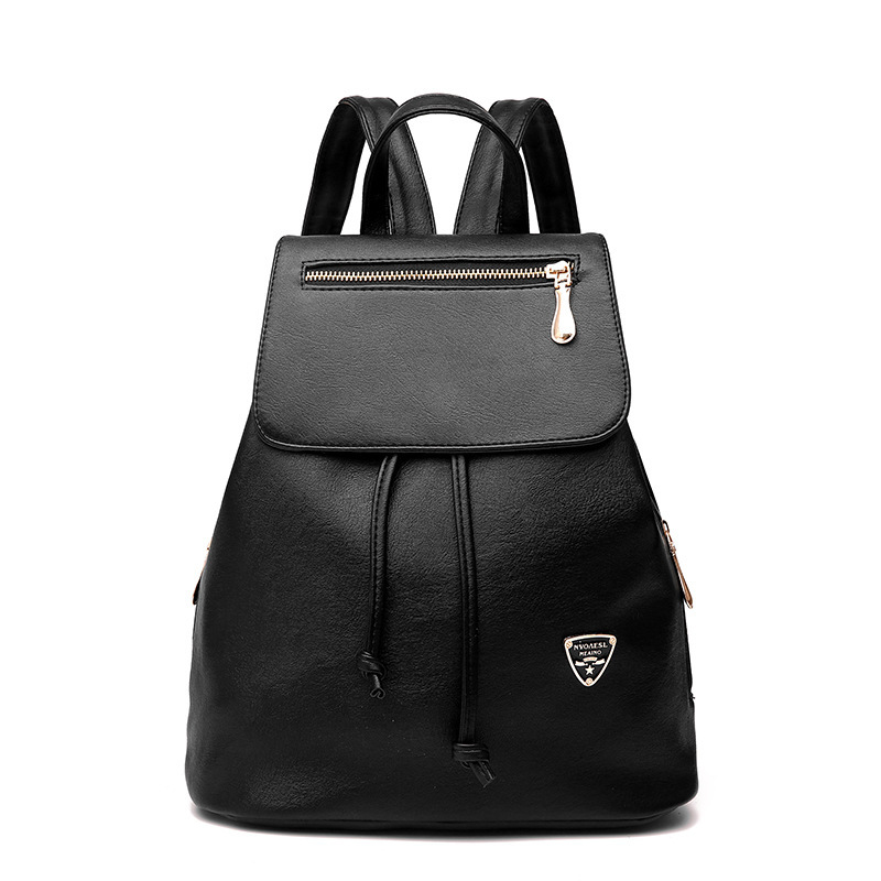 Fashion Women Backpack PU Leather Backpack Ladies Shoulder Bag Girls Travel Back Pack Student Bags High Quality