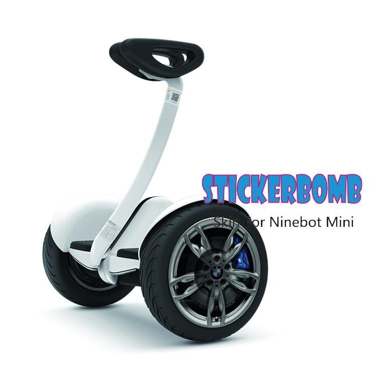 Nine mini scooter Sticker Gyroscooter font b electric b font font b skateboard b font balance