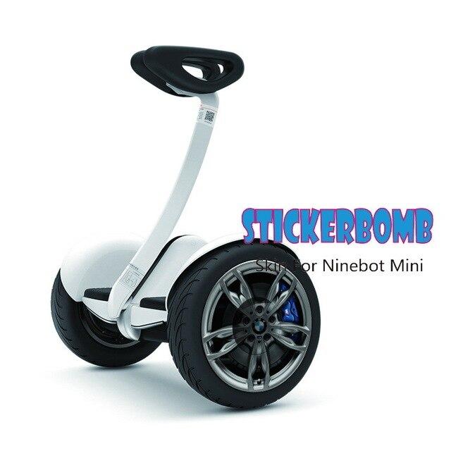 Девять мини-скутер Стикеры gyroscooter Электрический скейтборд Баланса скутер Стикеры ХОВЕРБОРДА skaterboard oxboard Стикеры
